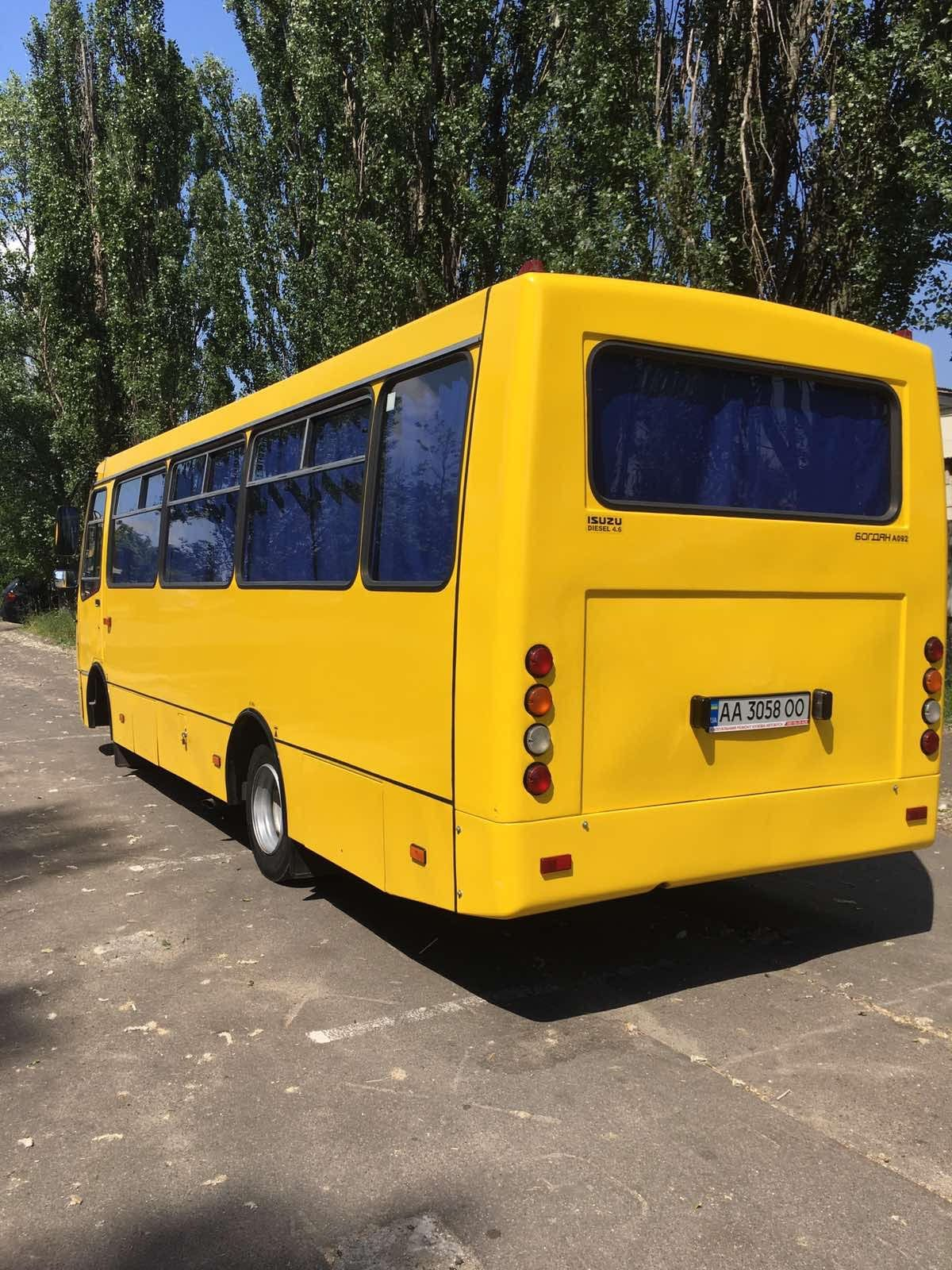 аренда автобуса с водителем киев